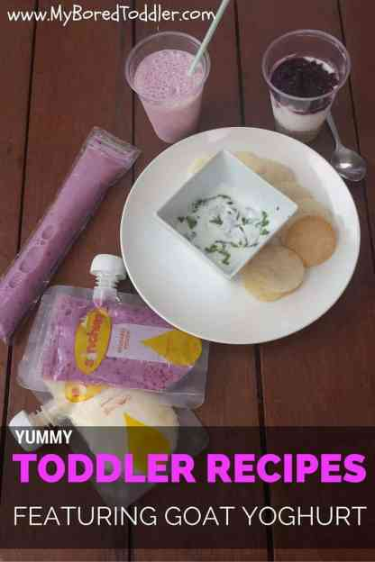 goat yoghurt toddler recipes