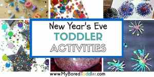 new year's eve activities for toddlers