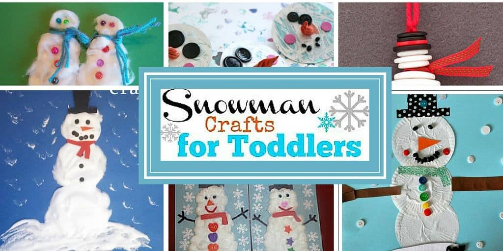 Snowman Crafts for Toddlers