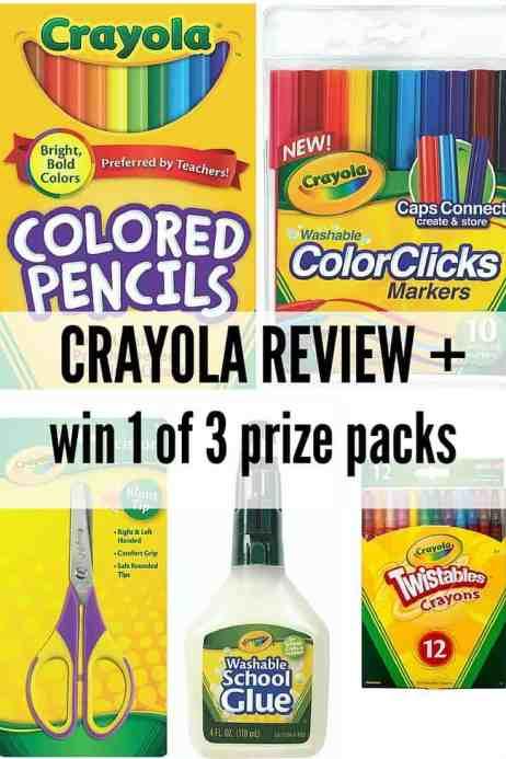 crayola review pinterest