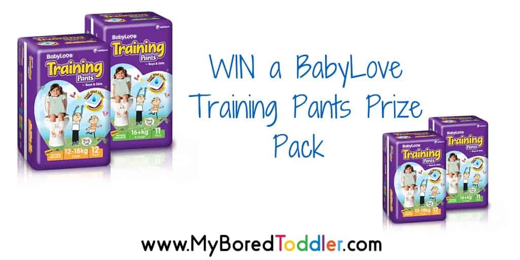 BabyLove Training Pants Review & Giveaway