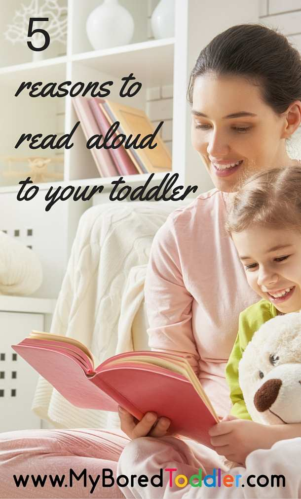 5 reasons to read aloud to your toddler pinterest