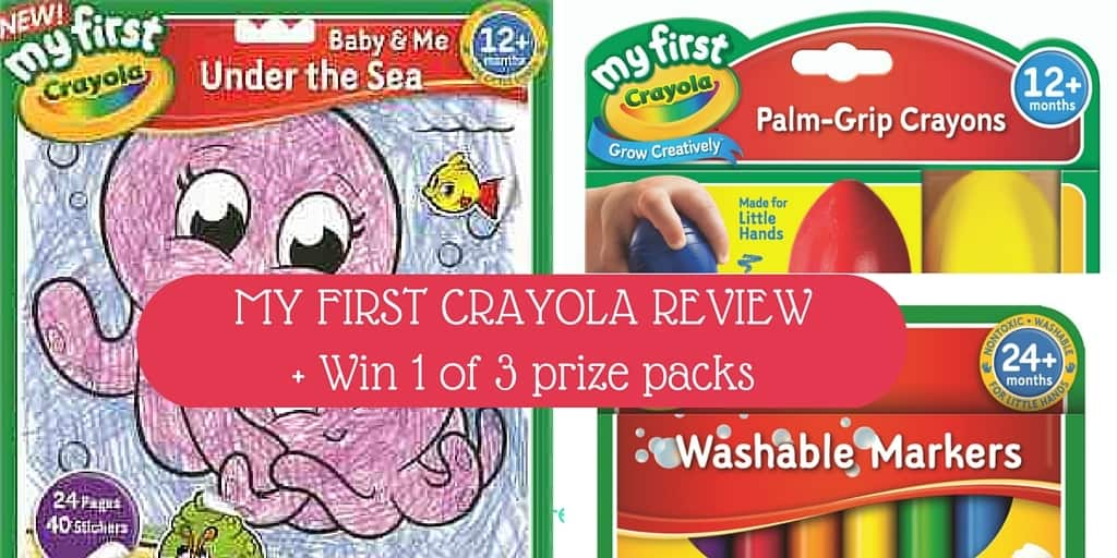 My First Crayola Review + Giveaway