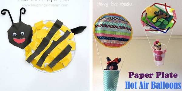 paper plate crafts for toddlers 7