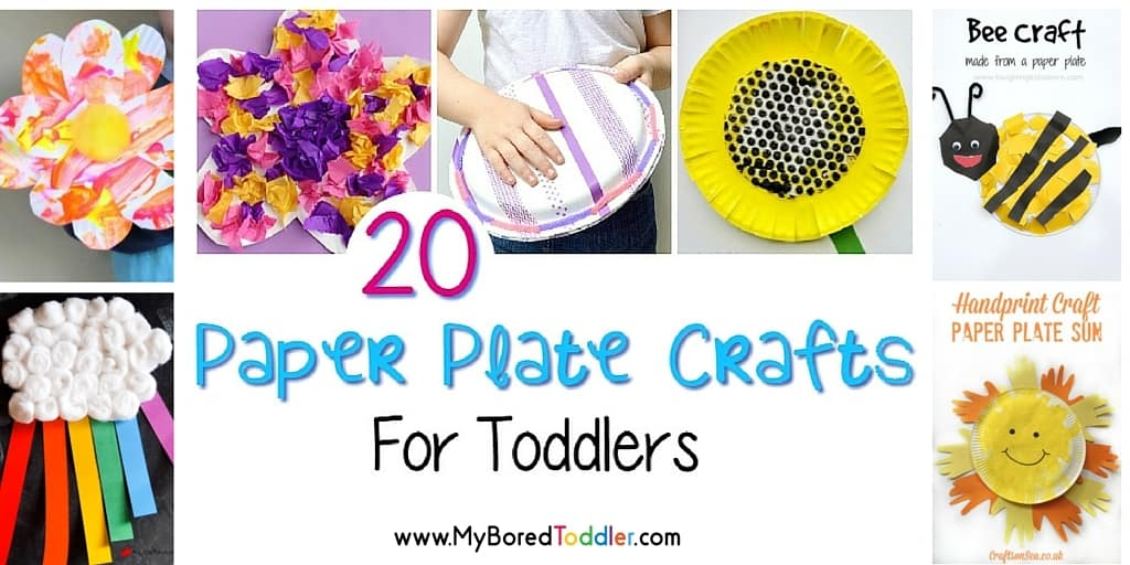 paper plate crafts for toddlers feature