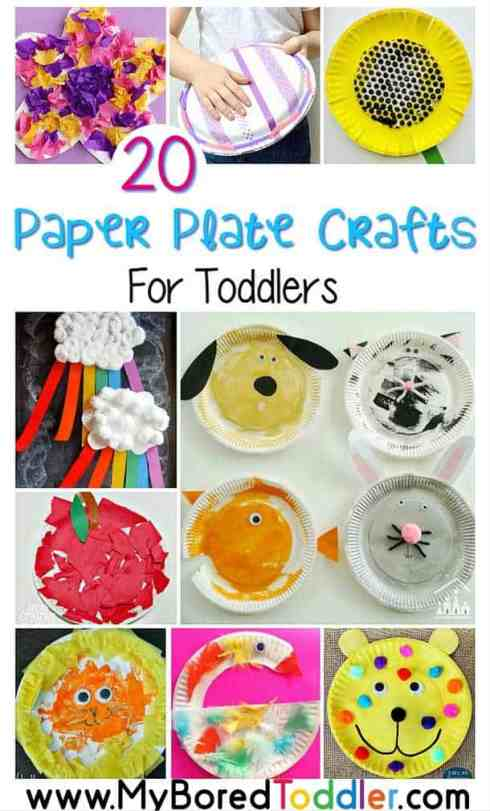paper plate crafts for toddlers pinterest