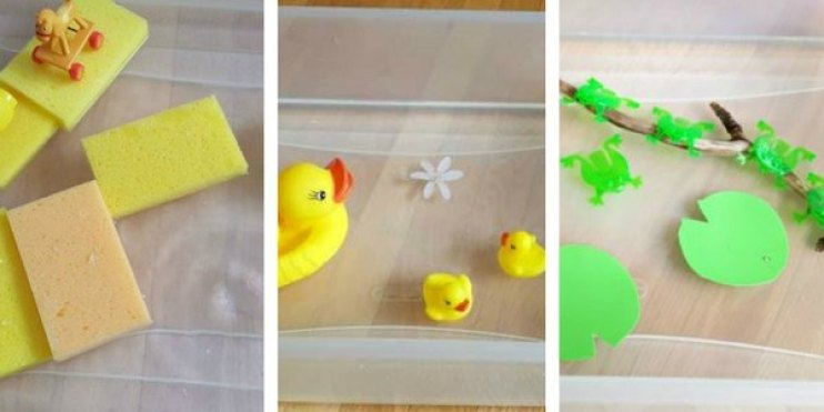 easy water play ideas for babies and toddlers image 2