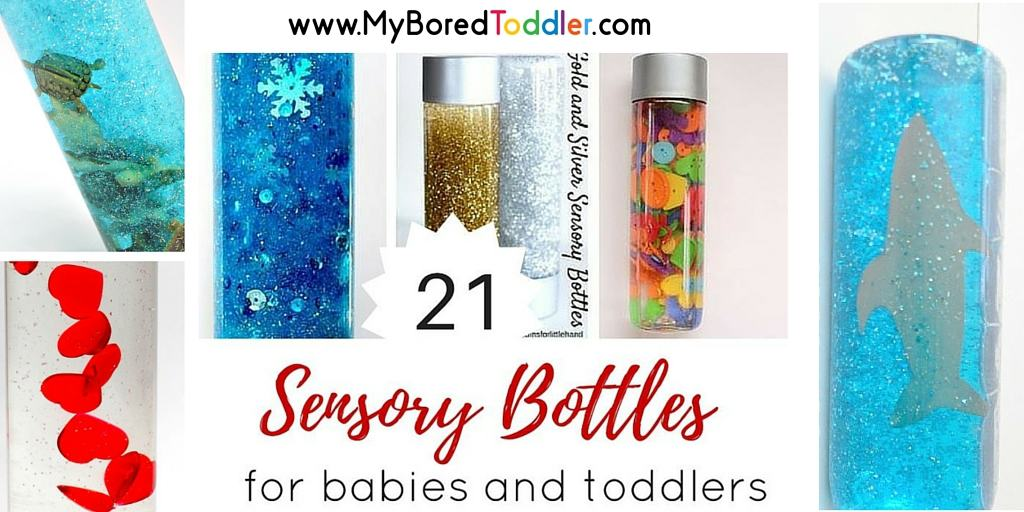 Sensory Bottles for Toddlers – easy to make!