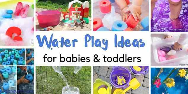 water play for babies and toddlers feature