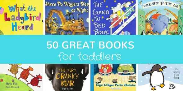 50 great books for toddlers