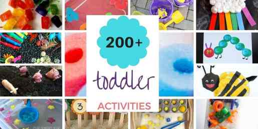 toddler activities collection feature