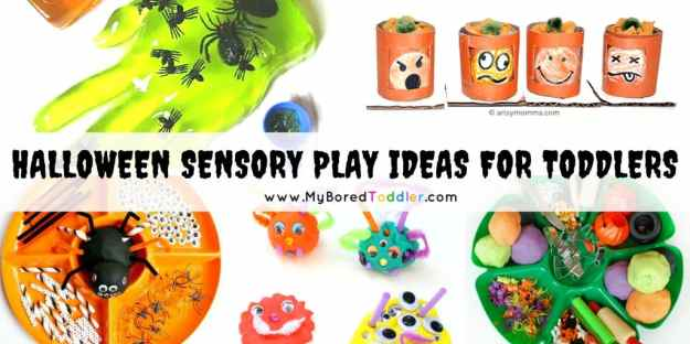 Halloween Sensory Play Ideas for Toddlers - Twitter