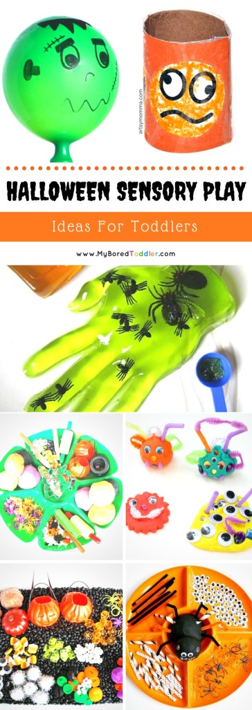 Halloween Sensory Play Ideas for Toddlers