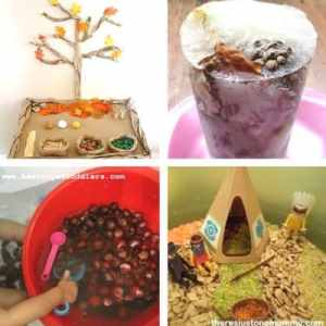 autumn and fall sensory play for toddlers image 6