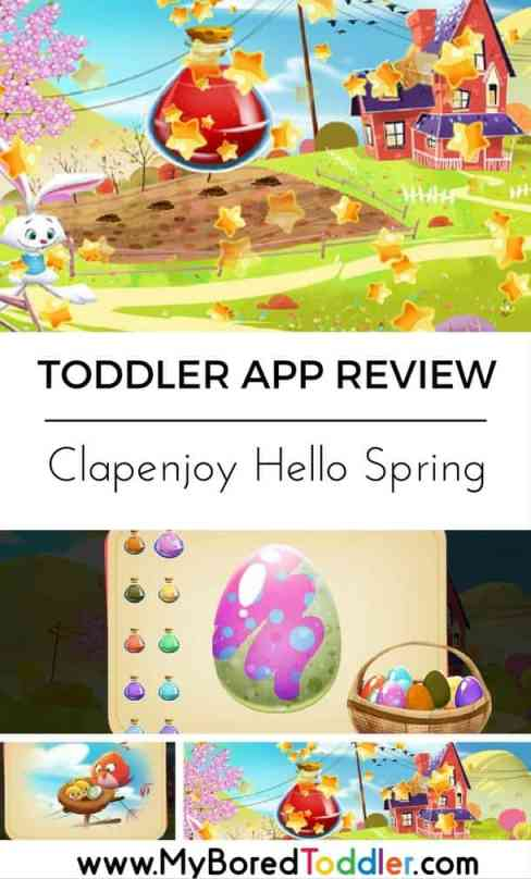 clapenjoy hello spring toddler app review pinterest