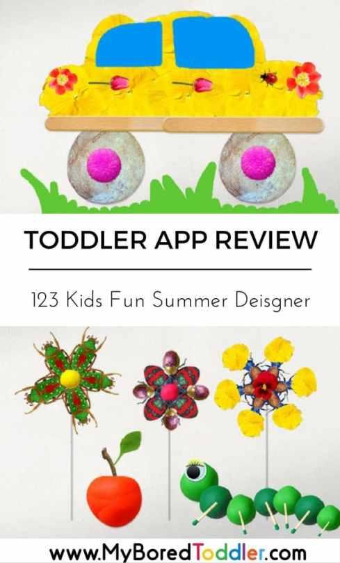 toddler app reivew 123 kids fun summer designer pinterest