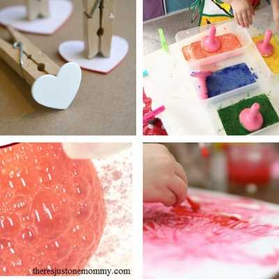 Valentine's Day crafts and activities and ideas for toddlers 6