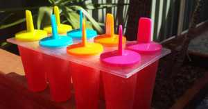 Strawberry & Mango Ice blocks for Kids