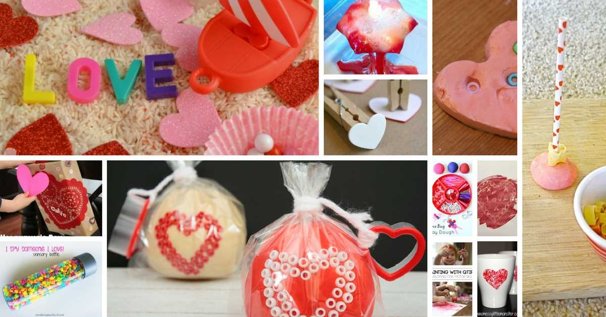 toddler valentine's Day crafts ideas and activities feature