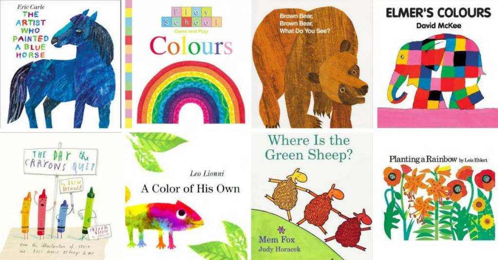 Color Books for Toddlers
