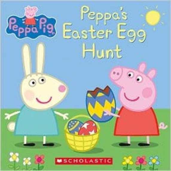 peppa's Easter egg hunt non choclate Easter gifts for toddlers