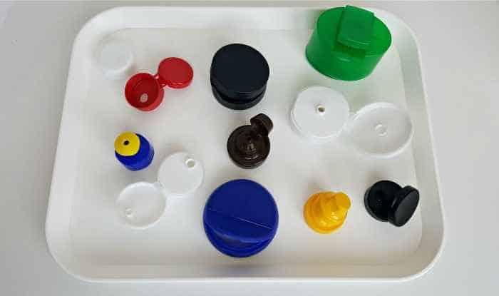 flip-top lids materials