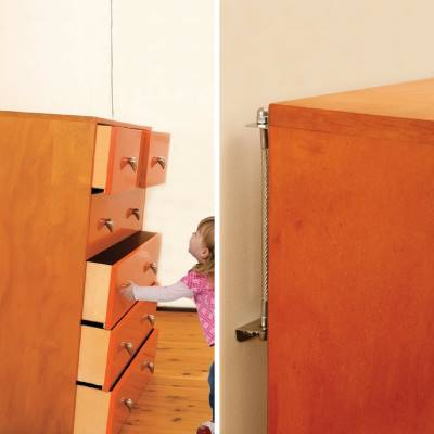 secure drawers and furniture baby and toddler safety tips