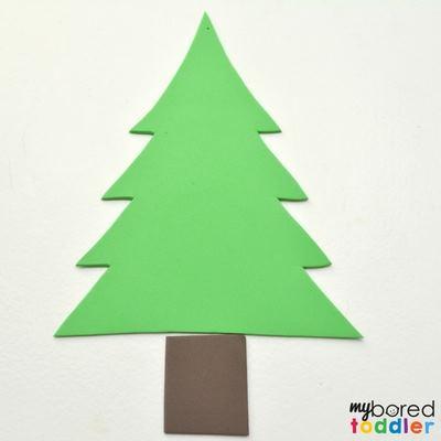 Christmas toddler sensory bag image 2
