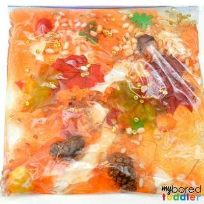 Toddler Fall sensory bag image 4