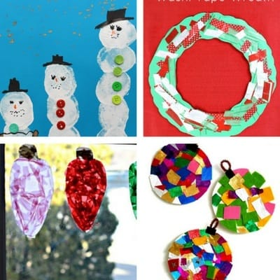 easy Christmas crafts for toddlers 3
