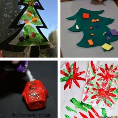 easy christmas crafts for toddlers 4