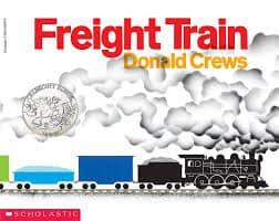 freight train transport sensory tub