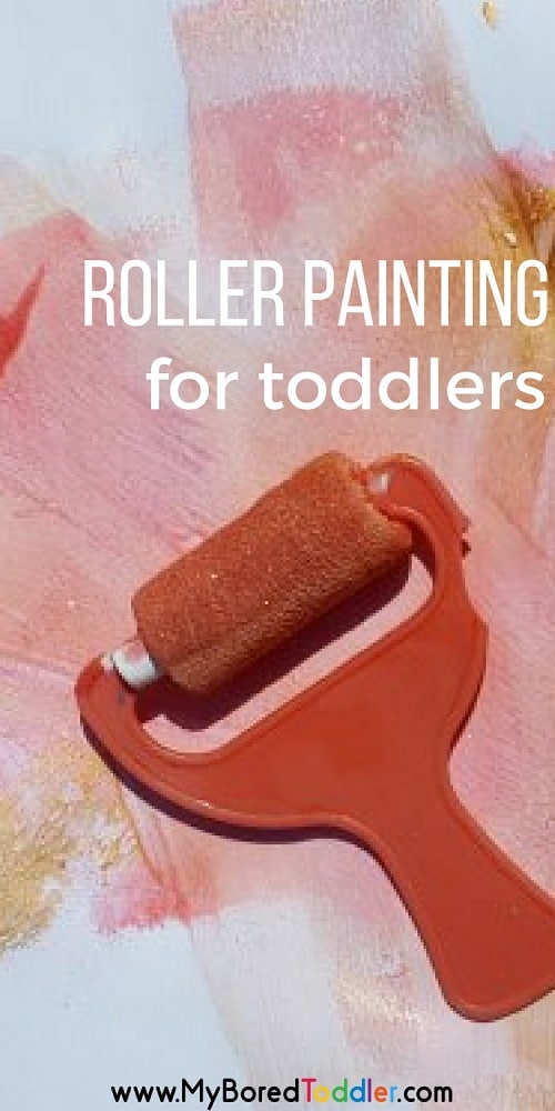roller painting for toddlers pinterest