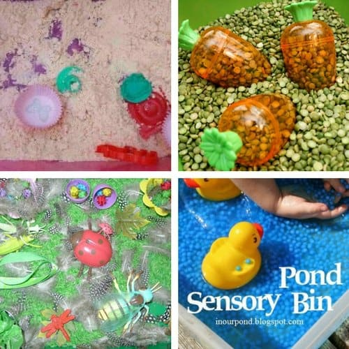 Spring Sensory Bins for Toddlers image 2