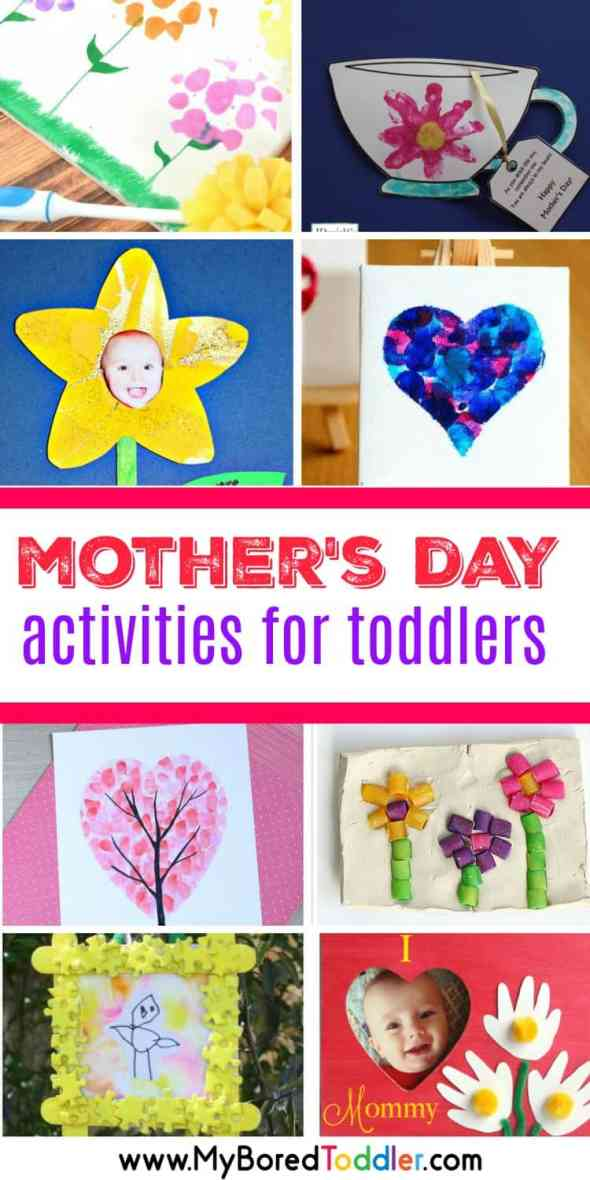 mother's day activities for toddlers crafts and activities for 1 2 and 3 year olds to make for mom mum