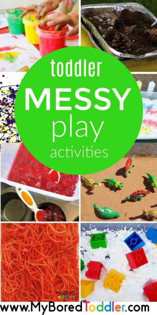 toddler messy play activities