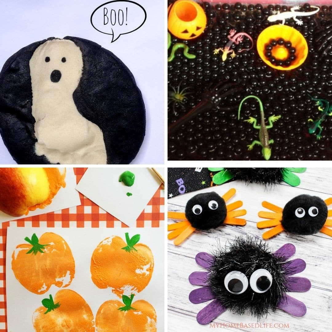 Halloween crafts for toddlers 4
