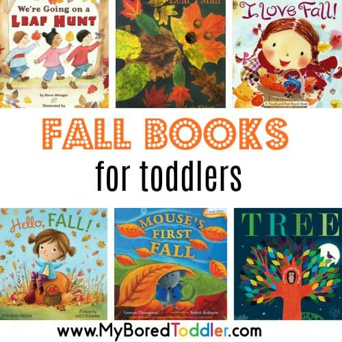 10 Great Toddler Books about Fall