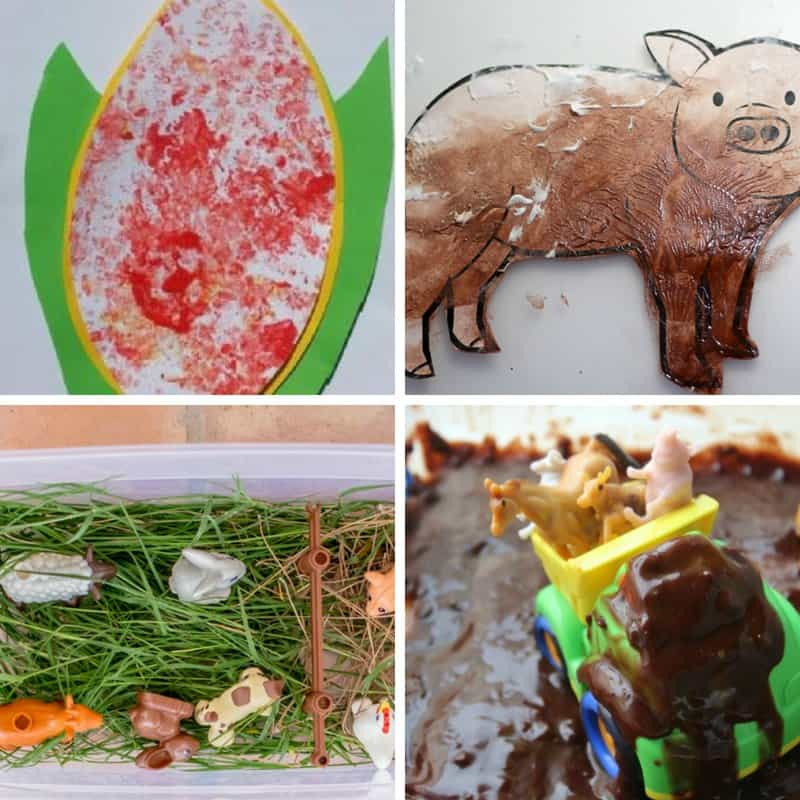 farm activities for toddlers one year olds two year olds three year olds
