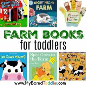 10 Great Farm Books for Toddlers