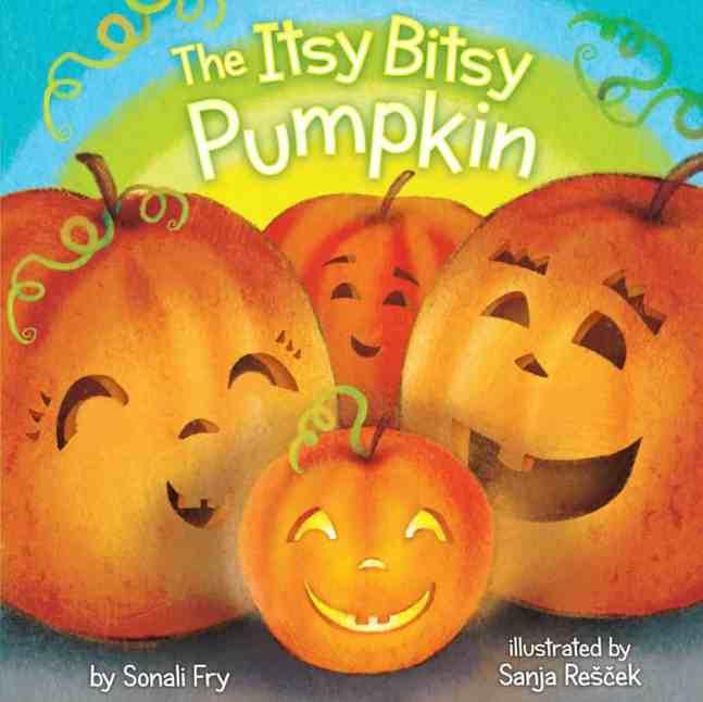 the Itsy bitsy pumpkin board book