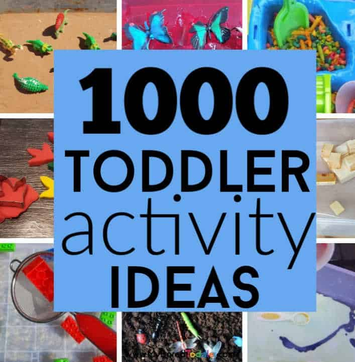 Toddler Activities To Do At Home