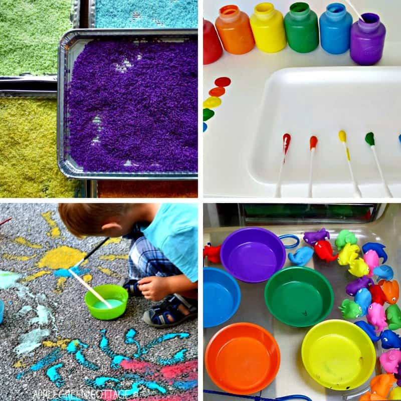 teaching colors to toddlers and preschoolers 1