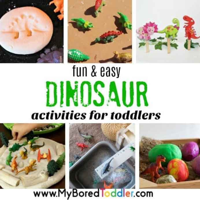 dinosaur activities for toddlers 2 and 3 year olds