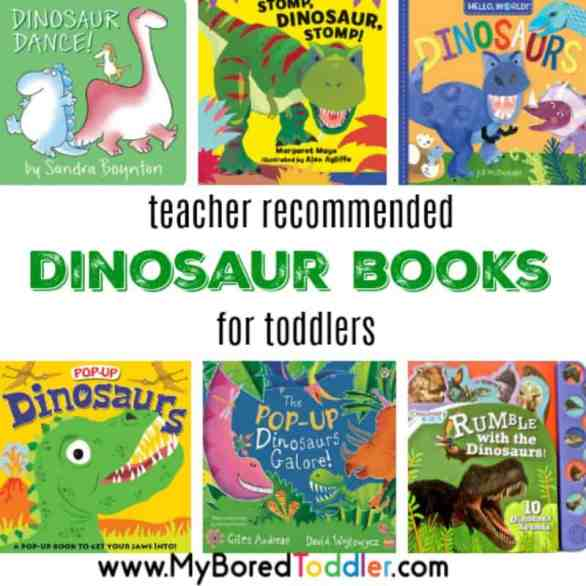 teacher recommended dinosaur books for toddlers