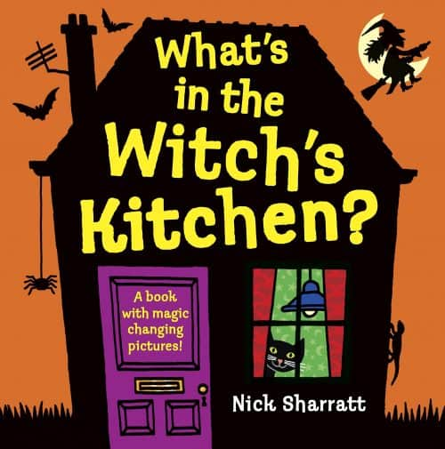 What's in the Witch's Kitchen book for toddler for Halloween
