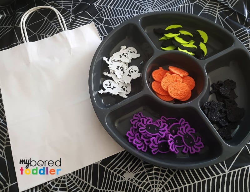 halloween sticker trick or treat bags stickers ready