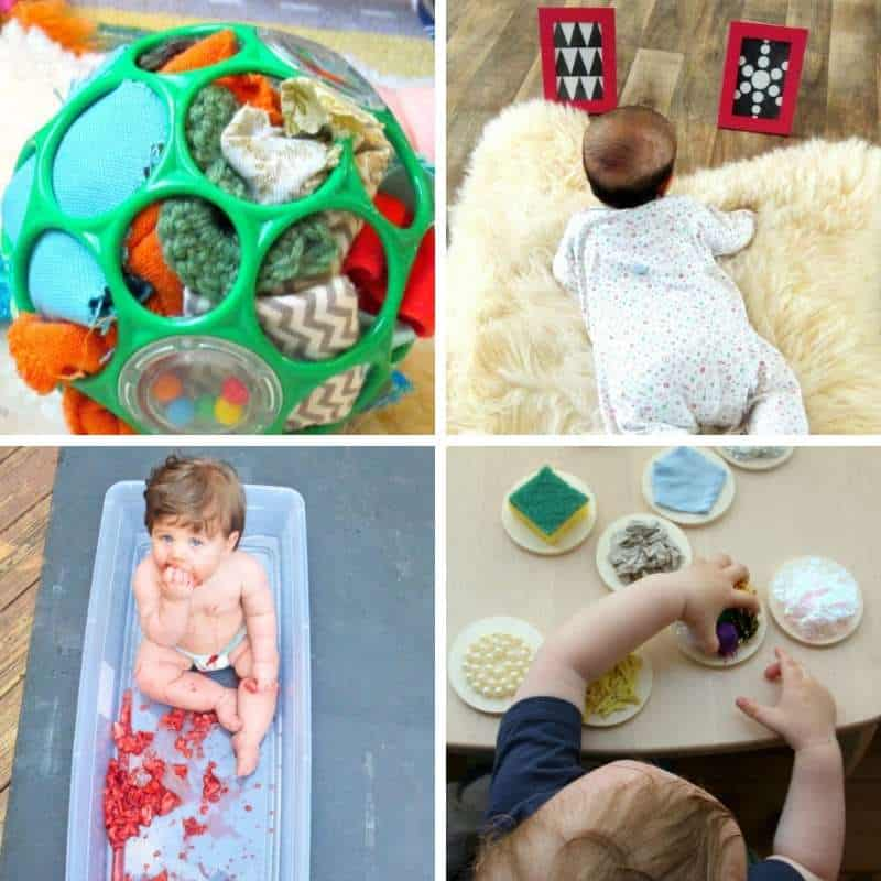 6 - 12 months old baby playtime ideas