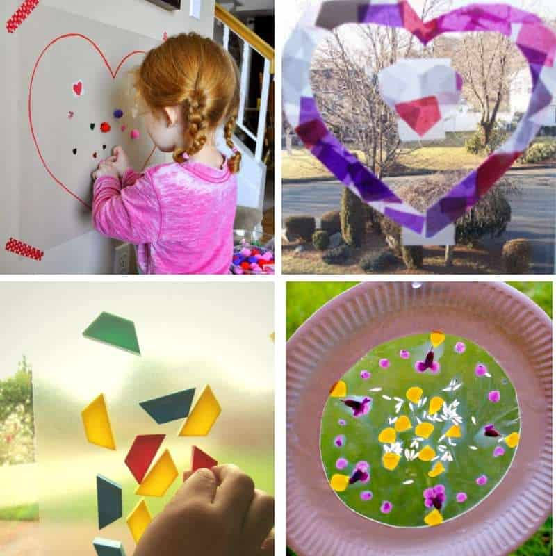 contact paper ideas for toddlers