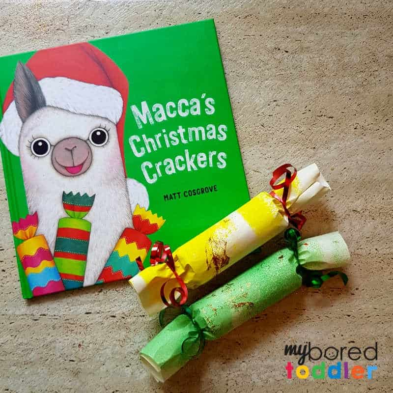 Easy Christmas Crackers for Toddlers to Make